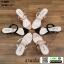 รองเท้าส้นสูง วัสดุหนังกำมะหยี่ 17-4092-BLK [สีดำ] thumbnail 4