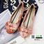 รองเท้าคัชชูนำเข้า วัสดุกำมะหยี TG-073-PINK [สีชมพู]