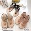 รองเท้าแตะพื้นนิ่มรัดส้น B1817-1-ครีม [สีครีม] thumbnail 5