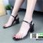 รองเท้าลำลองแบบสวม ทรง maxi G1289-BLK [สีดำ] thumbnail 2