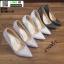 รองเท้าคัชชูส้นเข็ม ST338-WHI [สีขาว] thumbnail 3