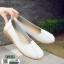 รองเท้าคัทชูผู้หญิง SM9028-WHT [สีขาว] thumbnail 3