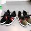 รองเท้าผ้าใบแฟชั่นหุ้มข้อสีดำ สไตล์เกาหลี (สีดำ ) thumbnail 5