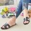 รองเท้าแตะหน้า H J332-ดำ [สีดำ] thumbnail 2