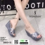รองเท้าส้นเตารีดแบบสวม 8980-15-GRA [สีเทา] thumbnail 1