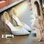 รองเท้าส้นสูงแบบหัวแหลม แต่งกลิตเตอร์ 519-เงิน [สีเงิน] thumbnail 3