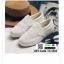 รองเท้าผ้าใบส้นเสมอ เย็บเกล็ดปลา G-1316-WHI [สีขาว] thumbnail 1