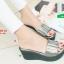 รองเท้าส้นเตารีดสีเทา สไตล์ลำลอง (สีเทา ) thumbnail 3