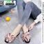 รองเท้าแตะสวม หน้าผูกโบซาติน 988-PNK [สีชมพู ] thumbnail 2