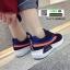 รองเท้าผ้าใบสไตล์เกาหลี IM0223-NAVY [สีกรม] thumbnail 2