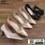 รองเท้าคัชชูส้นสูง TM2384-BLK [สีดำ] thumbnail 3