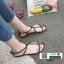 รองเท้าแตะผู้หญิงรัดส้น Celine sandals C55-1-BLK [สีดำ] thumbnail 4