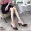 รองเท้าคัชชูส้นเข็มเปิดส้น K9014-BLK [สีดำ] thumbnail 2