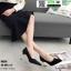 รองเท้าคัชชูส้นสูง K9330-BLK [สีดำ] thumbnail 3