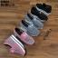 รองเท้าผ้าใบเสริมส้นแบบสวม ST8031-GRA [สีเทา] thumbnail 4