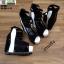 รองเท้าหุ้มส้นทรงเตารีด ST1007-BLK [สีดำ] thumbnail 5
