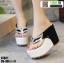 รองเท้าหูคีบส้นเตารีด ST821-BLK2 [สีดำ] thumbnail 1