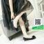 รองเท้าคัทชูเสริมส้นสีดำ พื้นบุนวมนุ่ม (สีดำ ) thumbnail 3