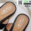 รองเท้าแตะหูหนีบ เท็กซ์เจอร์ลายเสือ G-1408-BLK [สีดำ] thumbnail 3