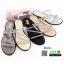 รองเท้าแตะผู้หญิง สายคาดเพชร M1860-GLD [สีทอง] thumbnail 3