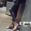 รองเท้าส้นสูงนำเข้า สไตล์เกาหลี 0291-SILVER [สีเงิน] thumbnail 2