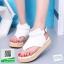 รองเท้าแตะรัดส้นสีขาว flip flops and female 2017 (สีขาว ) thumbnail 1