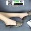 รองเท้าลำลองเปิดส้น ทรงหัวแหลม B55-354-GLD [สีทอง] thumbnail 2