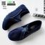 รองเท้าผ้าใบเกาหลี soft&comfort 8262-น้ำเงิน [สีน้ำเงิน] thumbnail 3