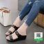 รองเท้าเตารีด สีพาสเทลสวยจับใจ 333-ดำ [สีดำ] thumbnail 1