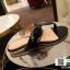 รองเท้าแตะหูหนีบ เท็กซ์เจอร์ลายเสือ G-1408-BLK [สีดำ] thumbnail 1