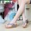 รองเท้าเพื่อสุขภาพ พียู หนีบ PU6130-GRY [สีเทา] thumbnail 1
