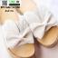 รองเท้าส้นเตารีด พื้นเสมอ G-1268-APR [สีแอปริคอท] thumbnail 4