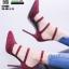 รองเท้าคัชชูรัดข้อส้นเข็ม ST1860-MAR [สีเลือดหมู] thumbnail 3