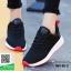 รองเท้าผ้าใบแฟชั่น W1012-BLK [สีดำ] thumbnail 2