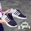 รองเท้าผ้าใบ ทรงสปอร์ต แต่งแถบข้าง SM9025-BLK [สีดำ] thumbnail 1