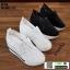 รองเท้าผ้าใบเสริมส้นแบบสวม ST319-BLK [สีดำ] thumbnail 5