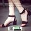 รองเท้าลำลองรัดส้น กำมะหยี่นิ่ม G12-19-BLK [สีดำ] thumbnail 4