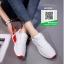 รองเท้าผ้าใบแฟชั่น W1012-WHI [สีขาว] thumbnail 4