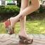 รองเท้าแบบสวมส้นเตารีด ST5117-GLD [สีGLD] thumbnail 5