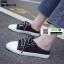 รองเท้าผ้าใบสวมเปิดท้าย ST55-BLK [สีดำ] thumbnail 2