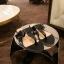 รองเท้าแตะหูหนีบ เท็กซ์เจอร์ลายเสือ G-1408-BLK [สีดำ] thumbnail 2