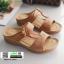 รองเท้าแตะ สไตล์วินเทจ 5943-BROWN [สีน้ำตาล] thumbnail 1