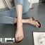 รองเท้าแตะ สไตล์Hermes ใส่ง่าย G-1402-BLK [สีดำ] thumbnail 2