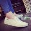 รองเท้าผ้าใบทรงสวมไม่ต้องผูกเชือก 237-WHI [สีขาว] thumbnail 1
