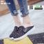 รองเท้าผ้าใบแบบเปิดส้น ST1-BLK [สีดำ] thumbnail 2