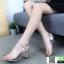 รองเท้าลำลองแบบสวม ทรง maxi G1289-GLD [สีทอง] thumbnail 4