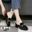 รองเท้าส้นสูงนำเข้าคุณภาพ 0084-ดำ [สีดำ] thumbnail 2