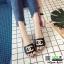 รองเท้าแตะ Chanel แต่งมุก G-1371-BLK [สีดำ] thumbnail 2