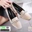 รองเท้าคัชชู miumiu กำหยี่ 7785-60-KHA [สีกากี] thumbnail 2