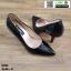 รองเท้าคัชชูงานหนังแก้ว K23114-BLK [สีดำ]
